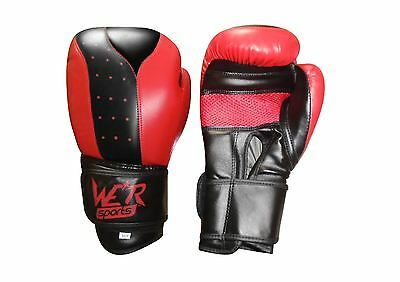 Boxing Gloves Fight Sparring Punch Bag MMA Muay Thai Training