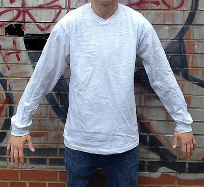 10x Job Lot Mens Long Sleeved Tee Shirt Bulk Joblot Tshirt Clearance Wholesale