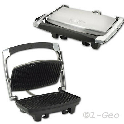 Stainless Steel Contact Grill Panini Grill Doner Kebab Maker Table Grill