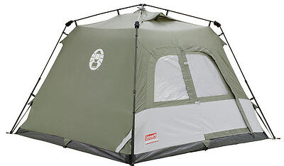 Coleman Instant Tourer Tent Four Person Man Family Camping Holiday Festival, NEW