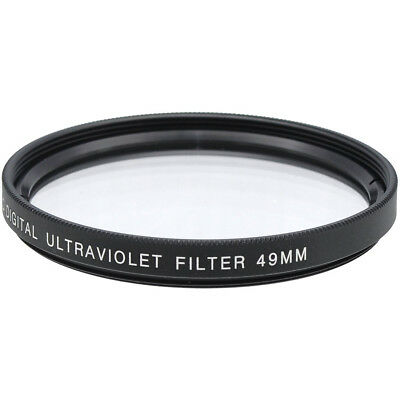 Xit 49mm Camera Lens Sky and UV Filter