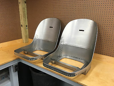 Jaguar E-Type, XKE 3.8 FHC Coupe Seat Frames - NEW & ABSOLUTELY PERFECT!!!