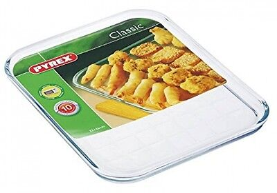 Pyrex Borosilicate Glass Baking Tray Oven Safe 10 Years Guarantee| FAST DELIVERY