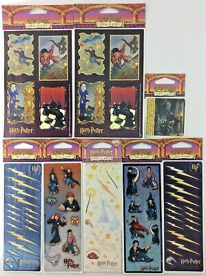 Harry Potter Stickers 8 Packages 15 Sheets OOP