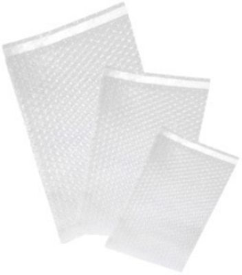 """1000 Uneekmailers 4x7.5 Bubble Out Self Sealing Pouches Wrap Bags Clear 4""""x7"""""""