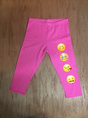 Emoji Leggings,Printed Leggings,Yoga Pants,Girls Xs4-5,S6-6X,M7-8,L10-12,XL14-16