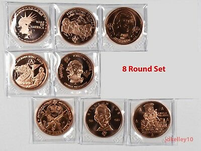 Apocalypze Zombie Series | Complete Set of 11 | 1 oz .999 Copper Round Coin
