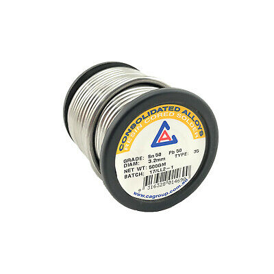 50/50 Resin Core Solder Wire x 3.2mm x 0.5 Kg - 300248