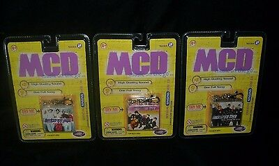 Lot Of 3 Vintage 1999 Mcd Backstreet Boys Musical Toy Keychains New In Package