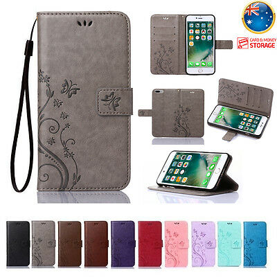 Leather Magnetic Flip Wallet Cards Holder Case Cover For iPhone X Xs Max Xr 7 8