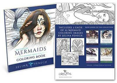 Selina Fenech Mythical Mermaids Colouring Book