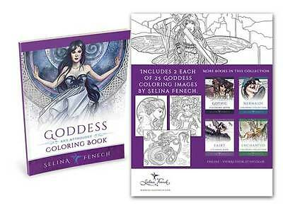 Selina Fenech Goddess Colouring Book