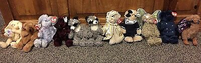 Ty Attic Treasures Lot Of 10. Retired Hard To Find