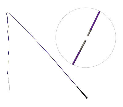 Showmaster Lunge Whip 2 piece Training lunging driving 160cm PURPLE free postage