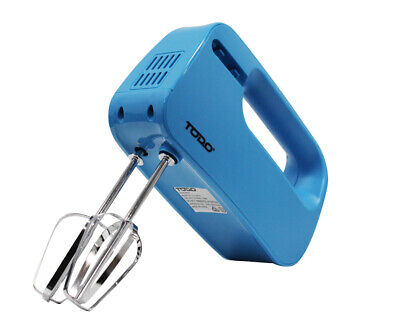Electric Hand Mixer Beater 3 Speed Whisk Cake Mixer Kitchen Utensil 150W Blue