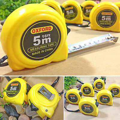 Retractable Steel Measure Tape Ruler 16 Feet 5M x 19mm Hot Sale