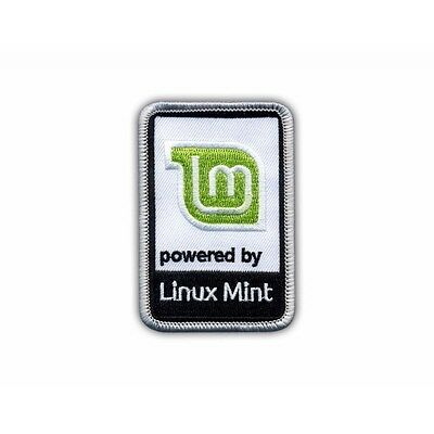 Powered by Linux Mint PATCH/BADGE