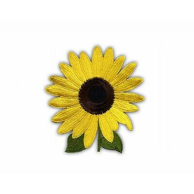 Sunflower with leaves (1) PATCH/BADGE