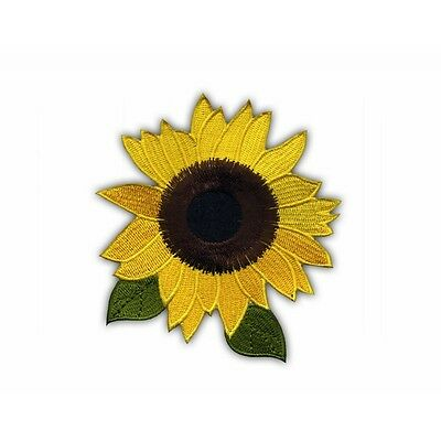 Sunflower with leaves (2) PATCH/BADGE