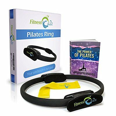 Fitness A2Z Pilates Ring - GREAT PACKAGE Includes: Fitness Magic Circle +