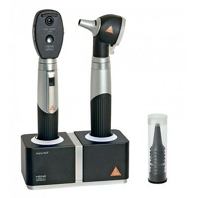 HEINE mini 3000 LED Diagnostic Set NT with LED Otoscope and LED Ophthalmoscope