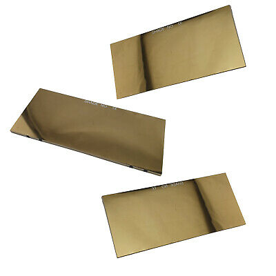Gold Reflective Lens 51mm x 108mm Shade 10 - 1 Each - 700031