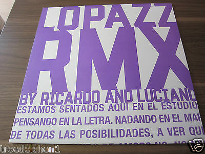 """M21)  MAXI 12"""" : LOPAZZ RMX by RICARDO AND LUCIANO"""