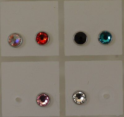 Piercing Dermal Microdermal Acier Chirurgical Pierre  zircon   en 4 ou 5 mm