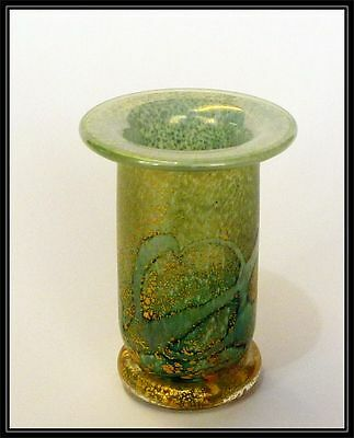 Isle of Wight studio Golden peacock candle holder