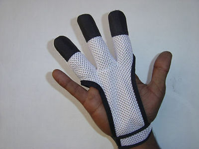 Archers Mesh Shooting 3 Fingers Glove