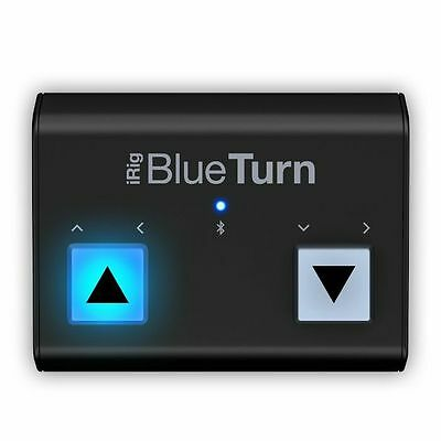 IK Multimedia iRig BlueTurn Bluetooth Page Turner For iOS & Android Devices