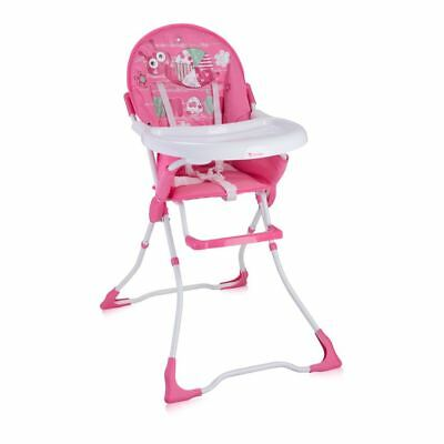New Baby Feeding High Chair Seat Grey Elephants Foldable Child Infant Girl