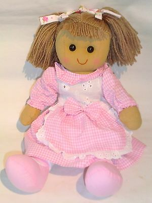 Rag Doll - Dolls measure 40cm - New but are faulty with imperfections