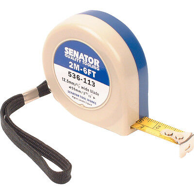 Senator 2M/6' Push-Pull Steel Tape Rule