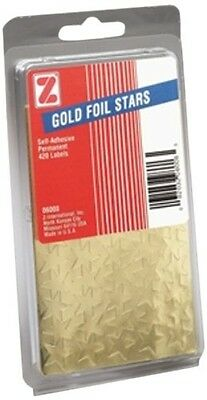 ADVANTUS Self Adhesive Gold Foil Stars, 440 Labels (Z06008)