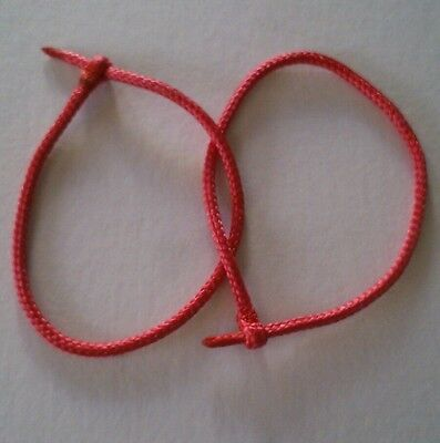 Falconry Paracord Flying Jesses red  All Sizes Available Quality @ A Fair Price
