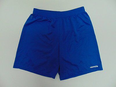 2000 2010 Kipsta blue Men's shorts soccer retro old football running vintage L