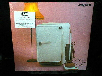 LP the CURE three imaginary boys COLOURED RECORD STORE 2012 SEALED LOW n.70/2500