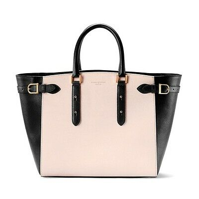Aspinal Of London Large Marylebone Tech Tote Bag Monochrome Mix Rrp 950