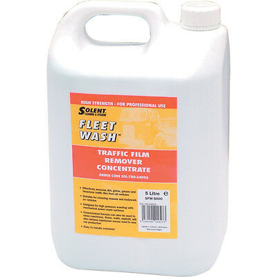 Solent Cleaning Sfw-5000 Fleet Wash Traffic Film Remover 5Ltr