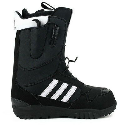 Adidas Men's Originals ZX 500 Black/White Snowboard Boots D69153 NEW!