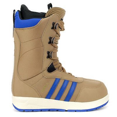 Adidas Men's Originals Samba Cardboard/Royal Blue Snowboard Boots D69130 NEW!