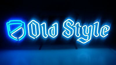 Old Style/Pabst Double Script Neon Beer Sign..New in Box..