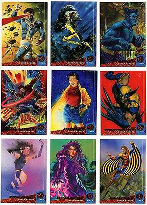 1994 Fleer Ultra Marvel X-Men Series 1 Complete Set (#1-150 Card)