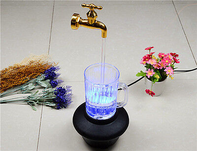 Magic Levitation Tap Flowing water LED Light Magician