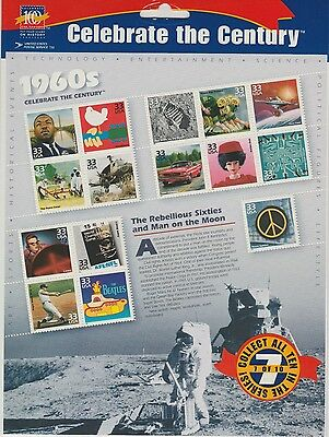 USA Stamp Pack Celebrate the Century 1960s