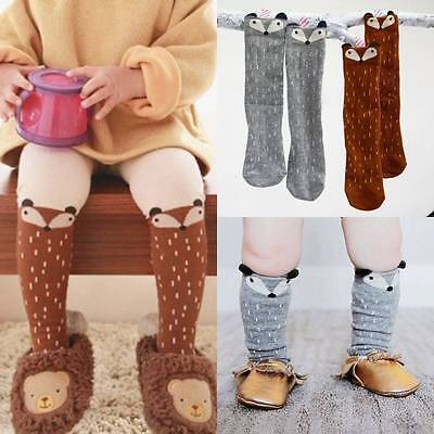Cozy Baby Kids Girls Cotton Fox Tights Socks Stockings Hosiery Pantyhose