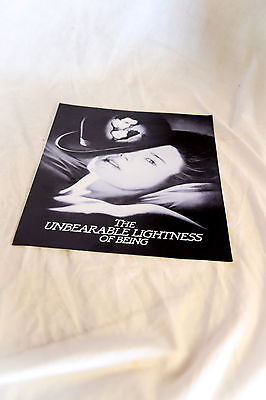 Rare 1988 Cinema Campaign Book: THE UNBEARABLE LIKENESS OF BEING