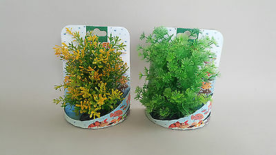 Aquarium Medium x1 Plant FishTank Gypsum Base Water 16-18cm Decoration Fish Deco