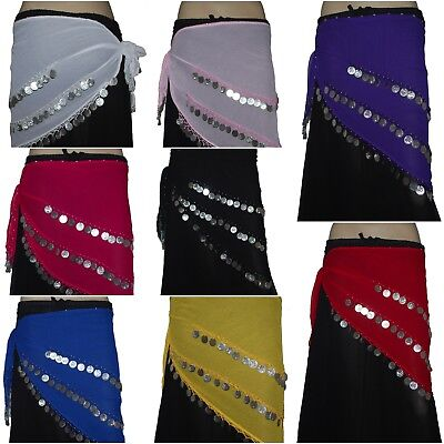 12 Hip scarves Belly Dance Belts Wholesale Price Hand beaded